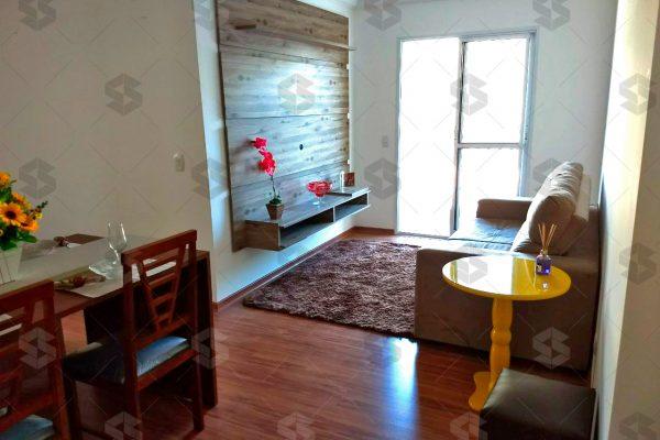 Condomínio das Figueiras sala de estar